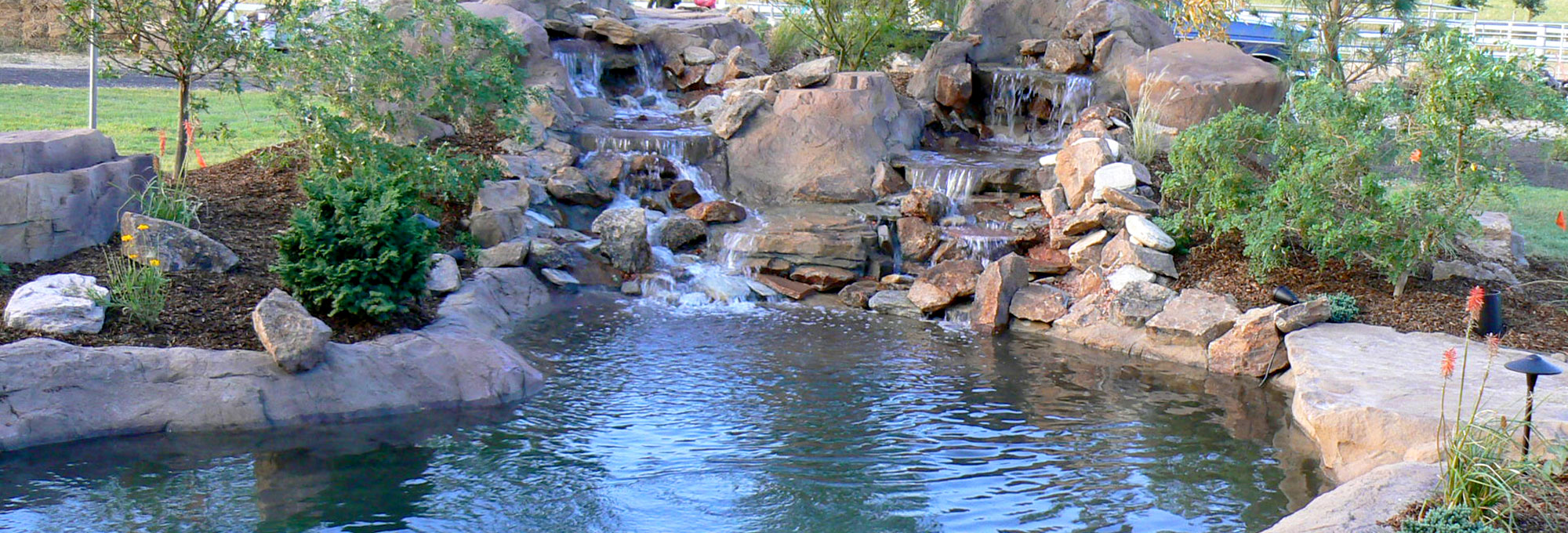 Innovative Rock Pond Design