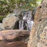 water fall feature